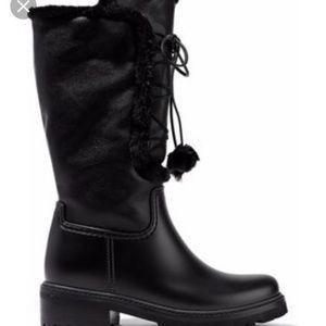 Stuart Weitzman Black Bear boots
